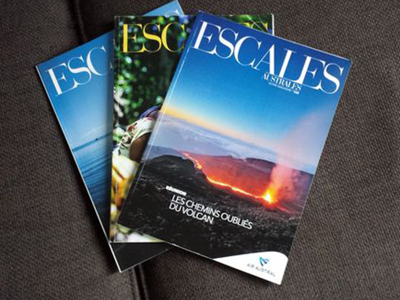magazine-escale-australe ecution disrestion artisque 1999-2002 18 editions